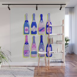 French Champagne Collection – Indigo Wall Mural