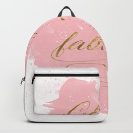 Classy And Fabulous Backpack
