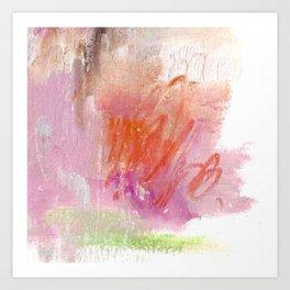 Pink dreams III Art Print