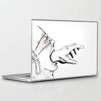anxiety Laptop & iPad Skins featuring Anxiety by EL Pablo