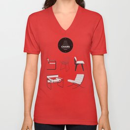 CHAIRS - A tribute to seats (special edition) Unisex V-Neck