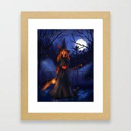 Magic and Moonlight Framed Art Print