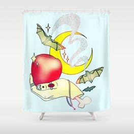 Apples & Bananas Shower Curtain
