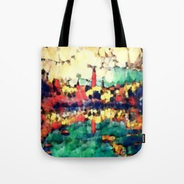 Hegemony:  The Dawn Lighthouse Tote Bag