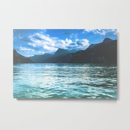 Lake Lucerne, Switzerland Metal Print