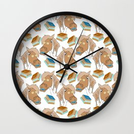 School Palamino Gear Wall Clock