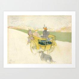 """Henri de Toulouse-Lautrec """"Partie de Campagne"""" Art Print"""