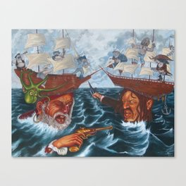 For Fear of the Depths Canvas Print