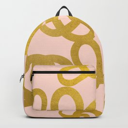 Every Great Story Seems To Begin With a Snake #abstract Backpack