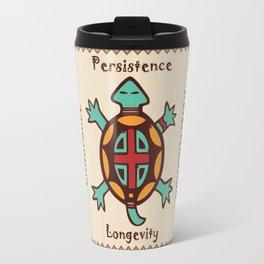 Turtle animal spirit Travel Mug