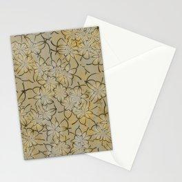 Vintage floral wallpaper 1A Stationery Cards