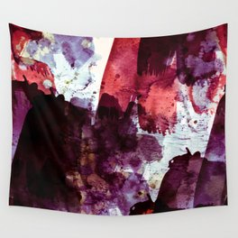 red & purple Wall Tapestry