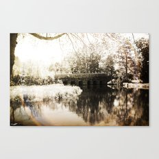 Stone Bridge Canvas Print