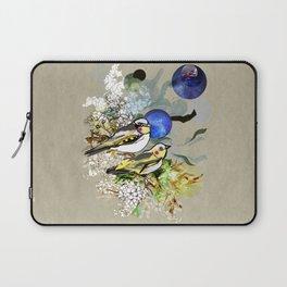 Yellow Birds Laptop Sleeve