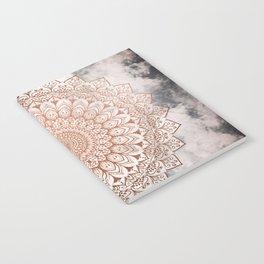 ROSE NIGHT MANDALA Notebook
