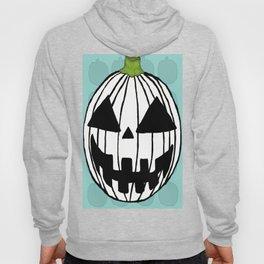 White Pumpkin Jack O Lantern  Hoody