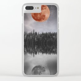 STILL REFLECTION #society6 Clear iPhone Case