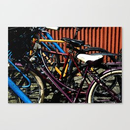 Ride your bike Canvas Print