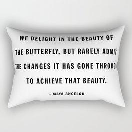 beauty of the butterfly Rectangular Pillow