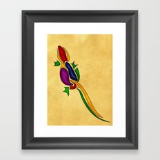 Lizard Framed Art Print