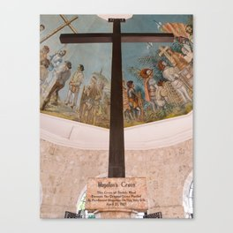 Magellans Cross, Cebu, Philippines Canvas Print