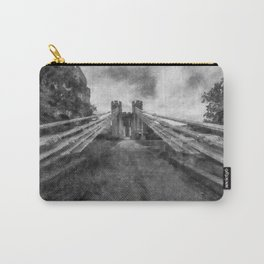 Conwy Suspension Bridge Carry-All Pouch