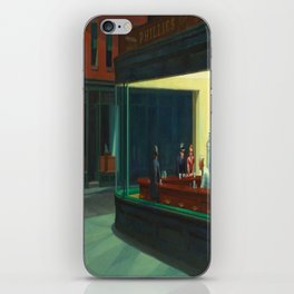 Edward Hopper's Nighthawks iPhone Skin