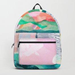 Lagoon Moon Backpack