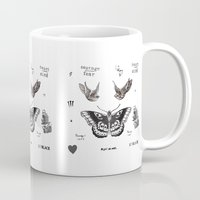 harry Mugs featuring Tattoo à la Harry by Kate & Co.
