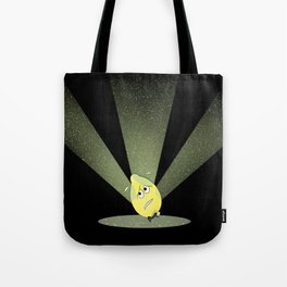 dreading the limelight Tote Bag
