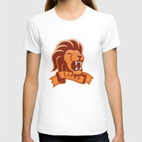 lions T-shirts featuring Lions Gryffindor by Fresco Umbiatore