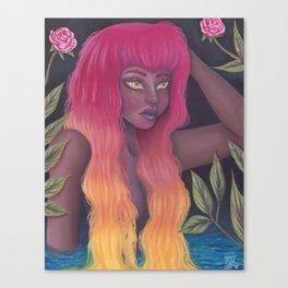 Femme Flame Canvas Print