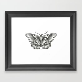 Harry Styles butterfly Framed Art Print