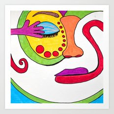 False face must hide what the false heart doth know. Art Print