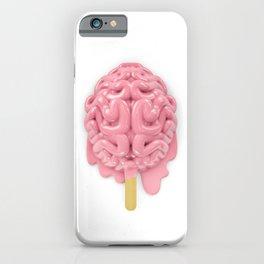 Popsicle brain melting iPhone Case