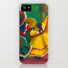 Baile Folklorico iPhone Case