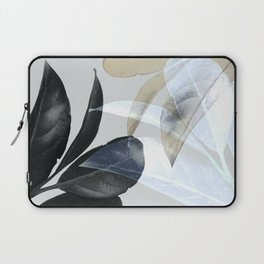 Moody Leaves II Laptop Sleeve
