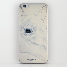 Absract Horse iPhone Skin