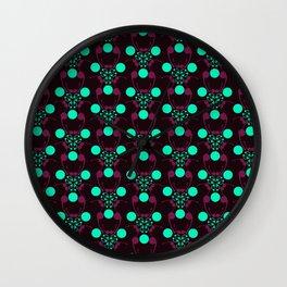 Bubble Compound 02 Wall Clock