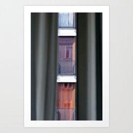 """WINDOWS - Berlin - """"Vacancy"""" zine Art Print"""