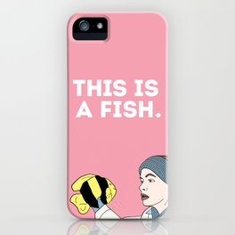 This is a Fish iPhone Case