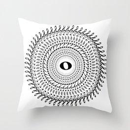 Music mandala no 2 Throw Pillow