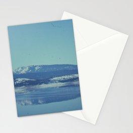 Winter Lake Stationery Cards