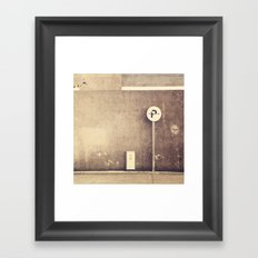 Road Framed Art Print