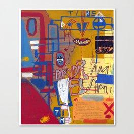 Pog Afterlife (Panel #3) Canvas Print