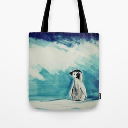 Baby Penguin Tote Bag