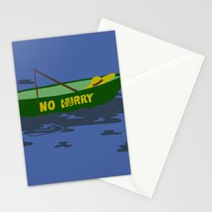 No Hurry Stationery Cards