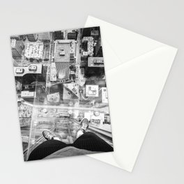Chicago from the top Stationery Cards