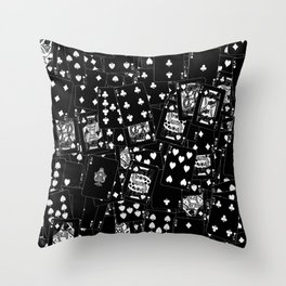 Suits You BLACK Throw Pillow