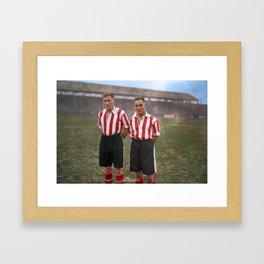 David McCulloch and Dai RichardS Framed Art Print